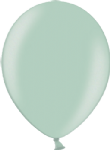 "12"" Metallic Light Green Latex Balloon"